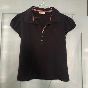 Burberry Navy polo shirt.